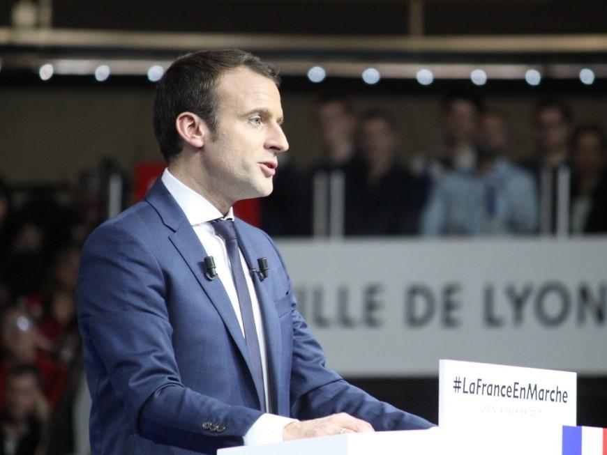 Présidentielle : Emmanuel Macron largement devant à Craponne (officiel)