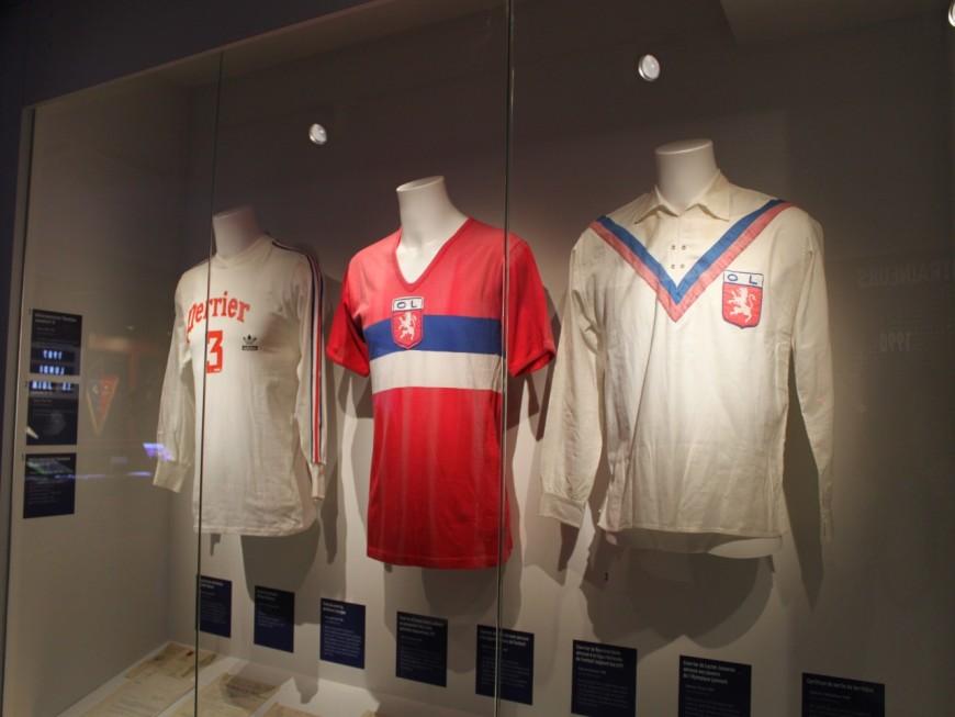 Maillots, trophées, vidéos : le musée de l'Olympique Lyonnais retrace l'histoire du club