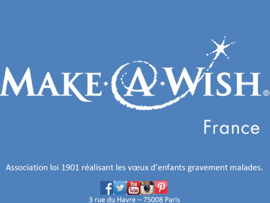 "L'association ""Make a Wish"" s'implante à Lyon"