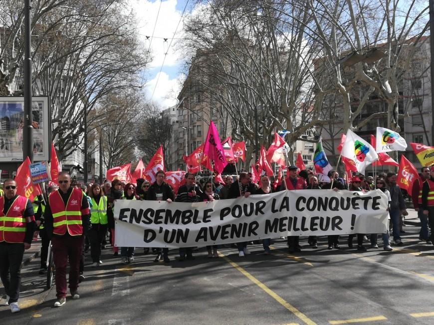 Journée de grève interprofessionnelle : près de 7 000 personnes mobilisées à Lyon