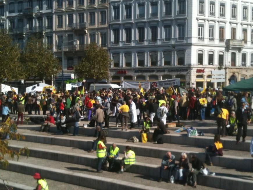 """Les """"anti-nucléaire"""" mobilisés samedi à Lyon"""