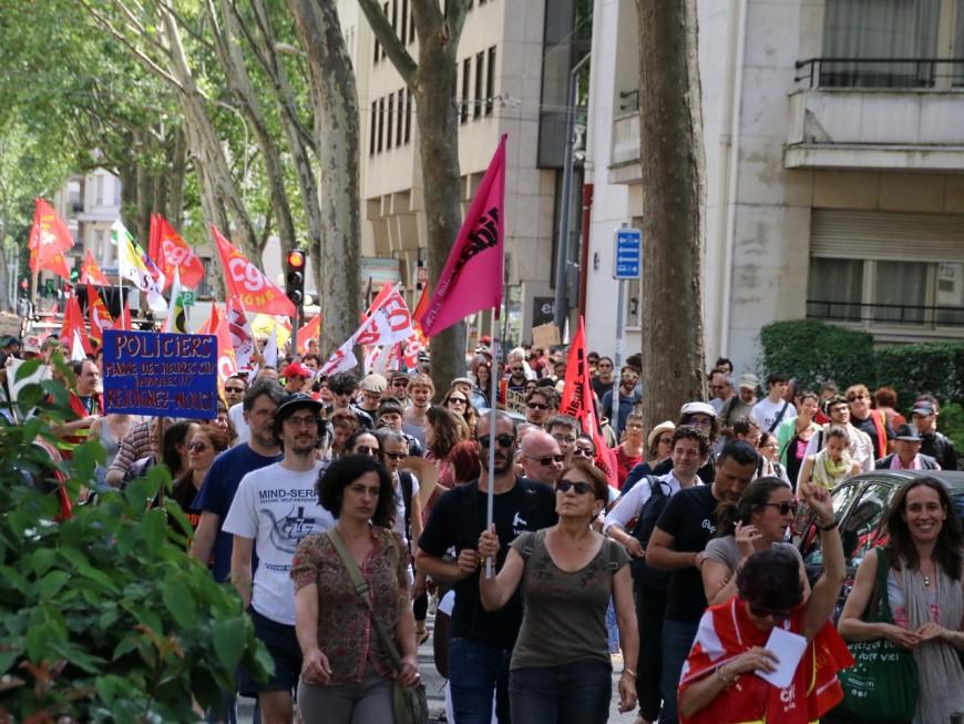 Lyon : 1 800 opposants à la loi Travail dans la rue ce mardi