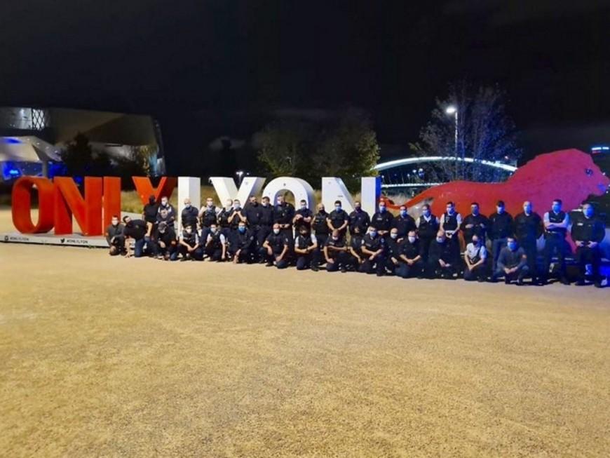Lyon: nouvelle manifestation de policiers en colère