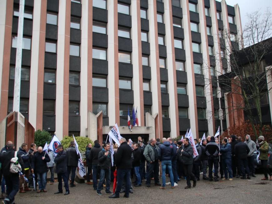 Les policiers de nouveau mobilisés à Lyon contre la haine anti-flic