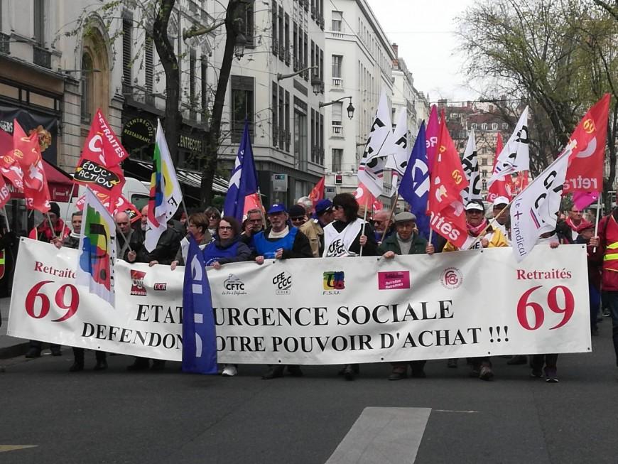 800 retraités mobilisés à Lyon