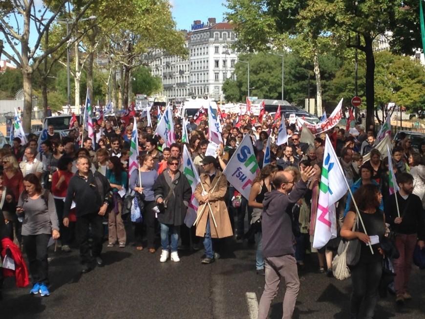 1 200 personnes ont manifesté contre la réforme du BAC, selon les syndicats