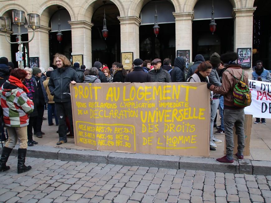 Un bâtiment réquisitionné pour reloger les migrants de l'université Lyon 2