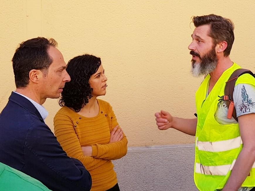 La tête de liste de France Insoumise aux européennes à Lyon pour un atelier sur le prix de l'eau