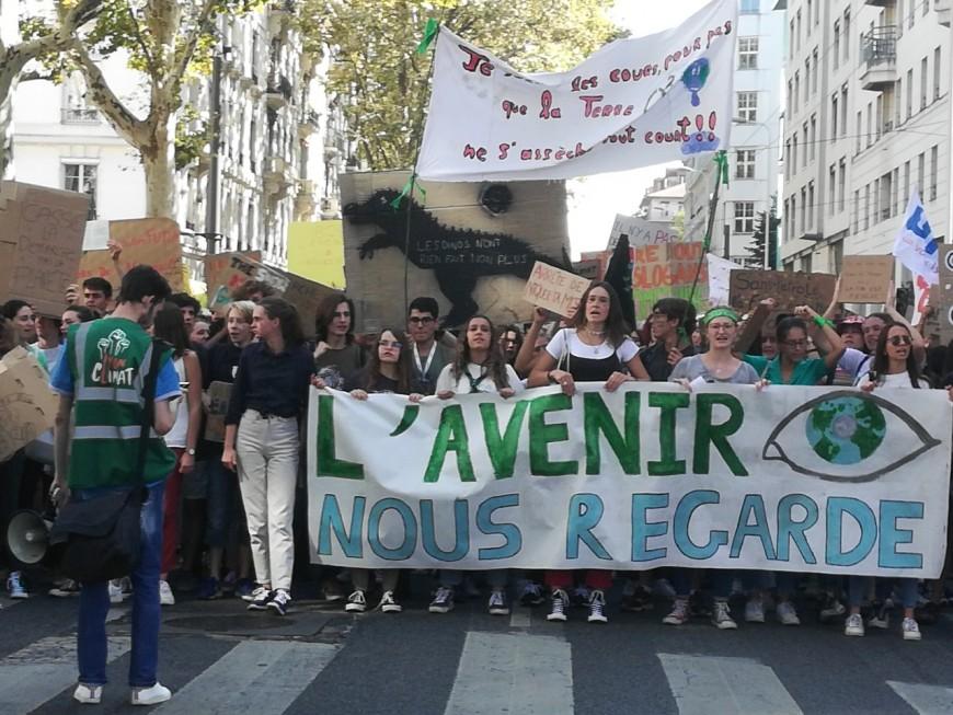 Lyon : 1 600 jeunes mobilisés pour le climat