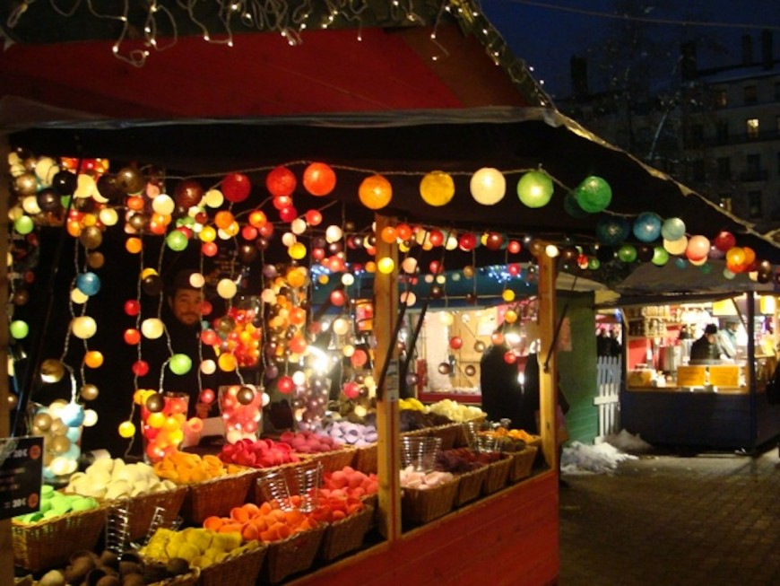 Le marché de Noël de la place Carnot a ouvert ses portes !