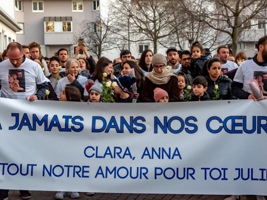 Incendie mortel route de Vienne : un millier de personnes pour dire adieu à Clara et Anna
