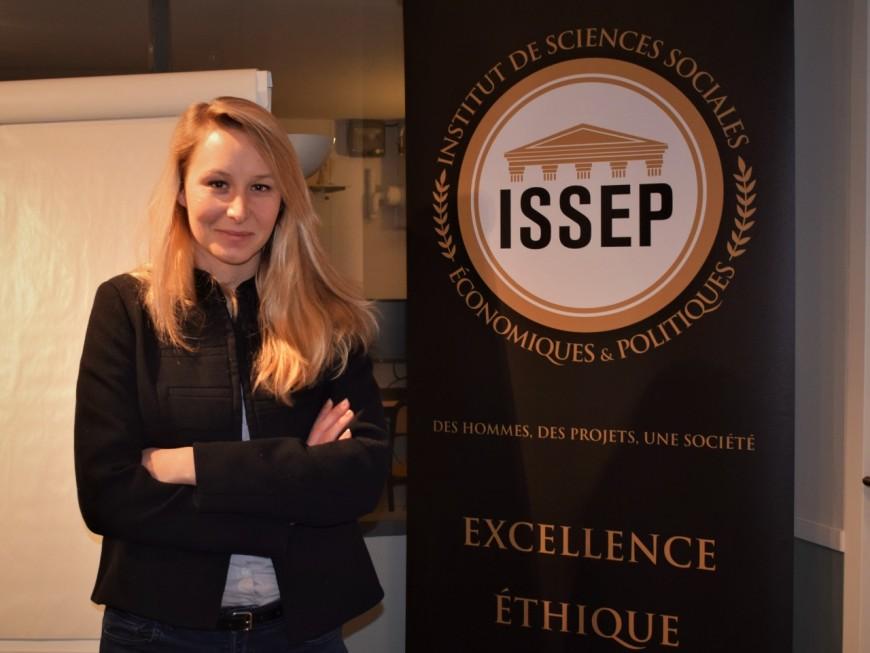 Marion Maréchal tire un premier bilan de son ISSEP