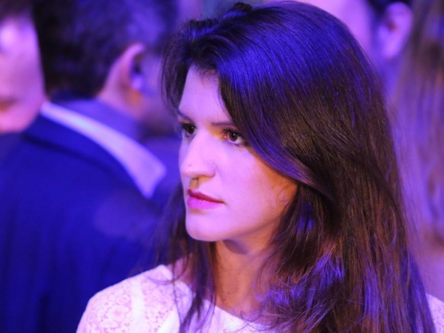 Marlène Schiappa en déplacement à Lyon ce lundi