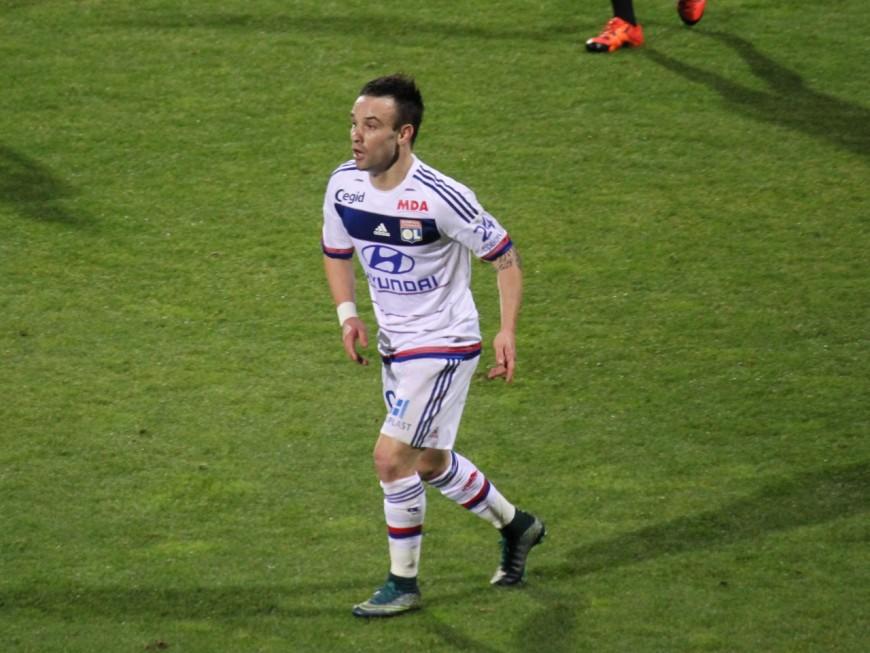 Mathieu Valbuena (OL) de retour à l'entrainement ce jeudi