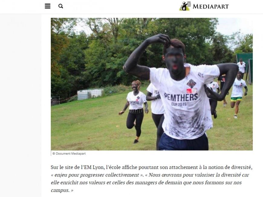 """Une enquête à l'EM Lyon après une journée """"blackface"""""""