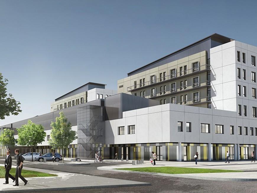 Le Médipôle Lyon-Villeurbanne, plus grand centre hospitalier privé de France, ouvre ses portes