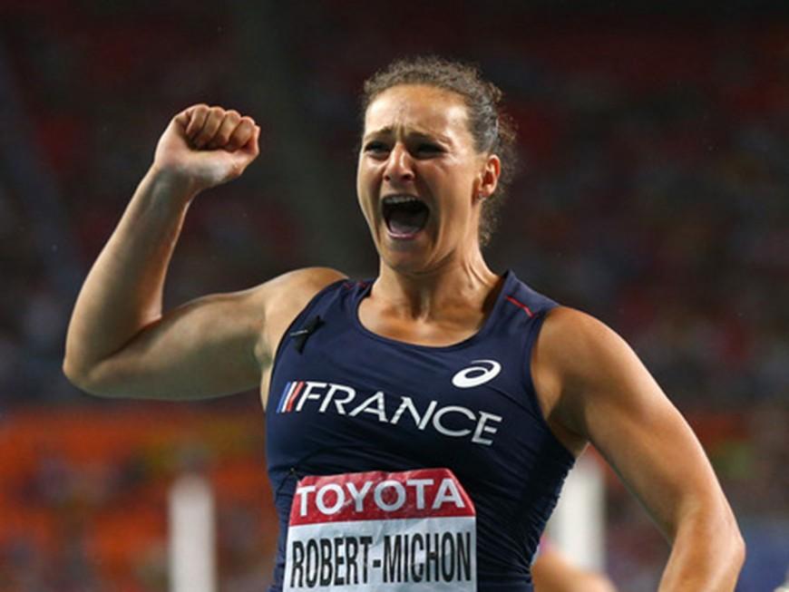 Mélina Robert-Michon désignée athlète française de l'année