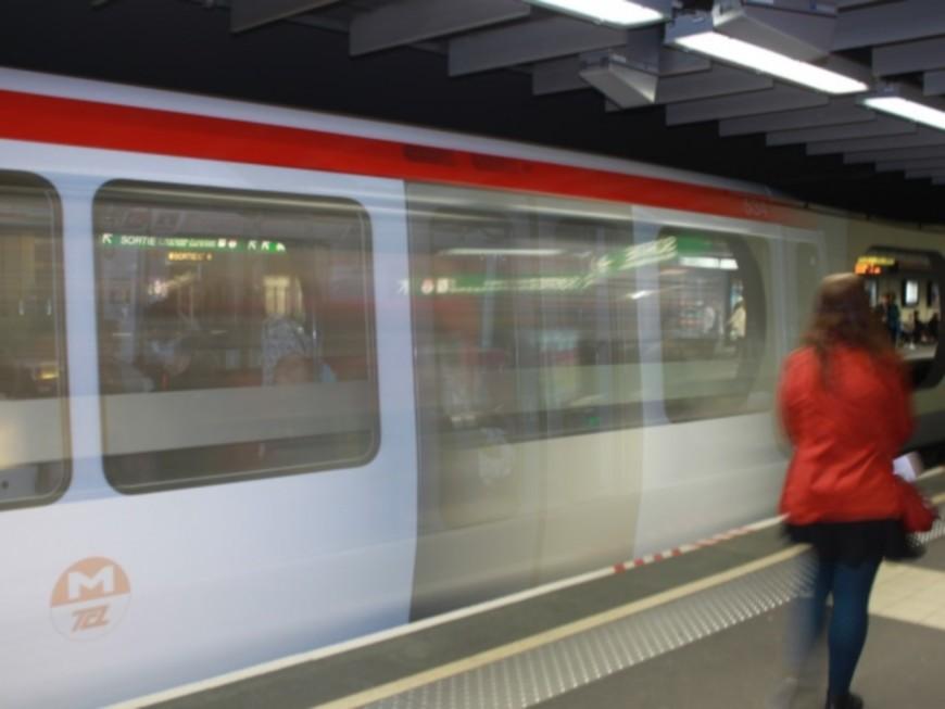 Lyon : un homme se frottait aux jeunes filles dans le métro A