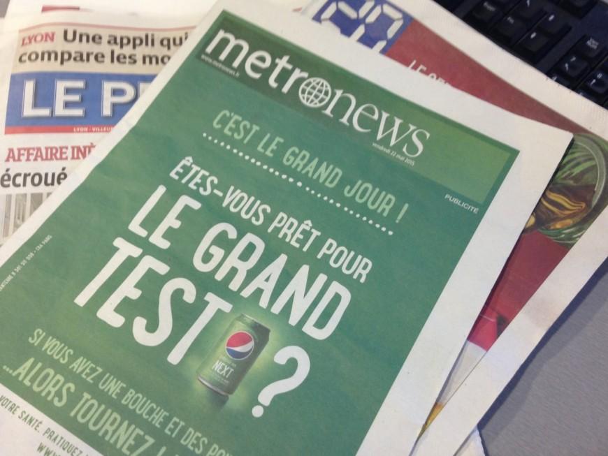 Lyon : fini le papier pour Metronews