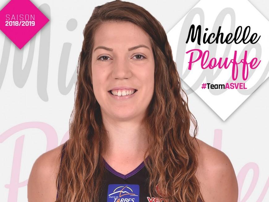 Lyon ASVEL féminin : Michelle Plouffe dans le grand bain lyonnais