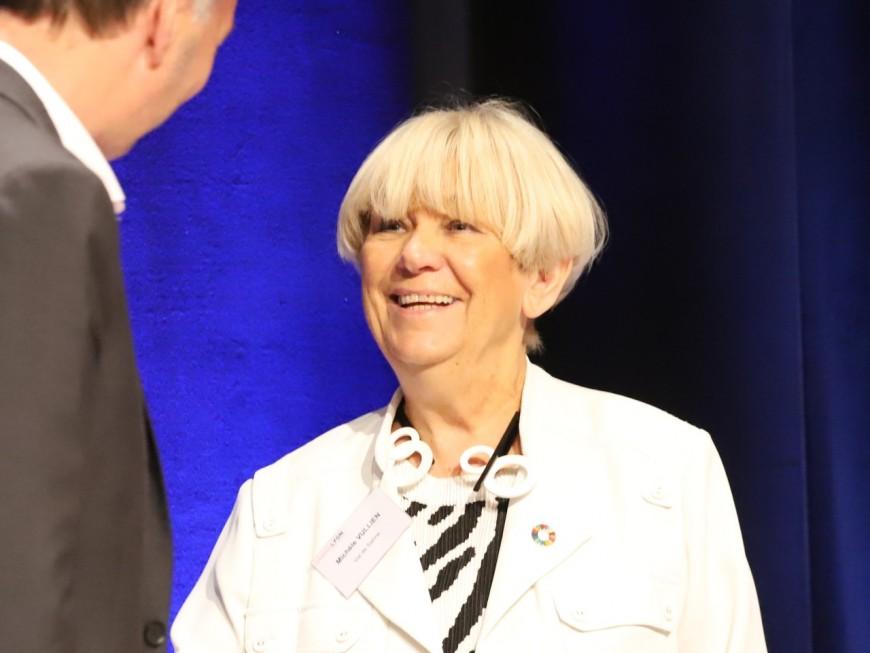 Sénatoriales 2020 : la sénatrice centriste Michèle Vullien candidate