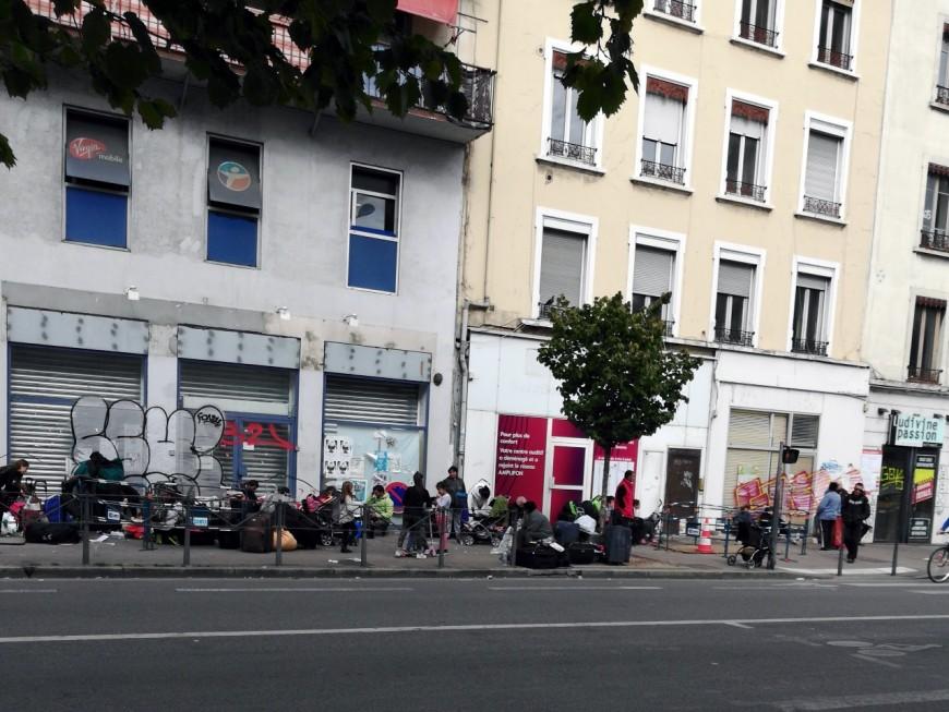 Un squat évacué dans le quartier des Gratte-Ciel à Villeurbanne