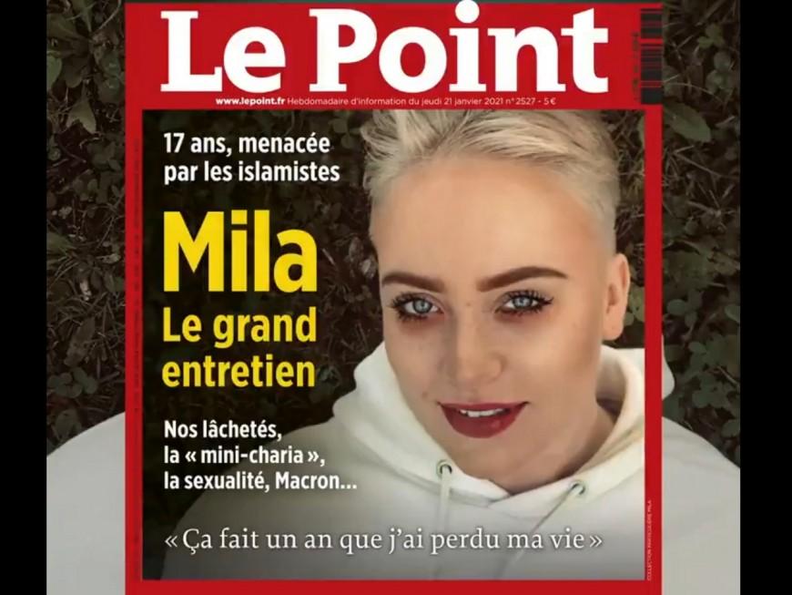 """""""Ça fait un an que j'ai perdu ma vie"""" : Mila fait la Une du Point cette semaine"""