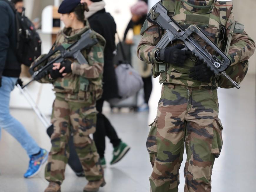 La militaire qui s'était tiré une balle dans la tête à la gare de la Part-Dieu est décédée