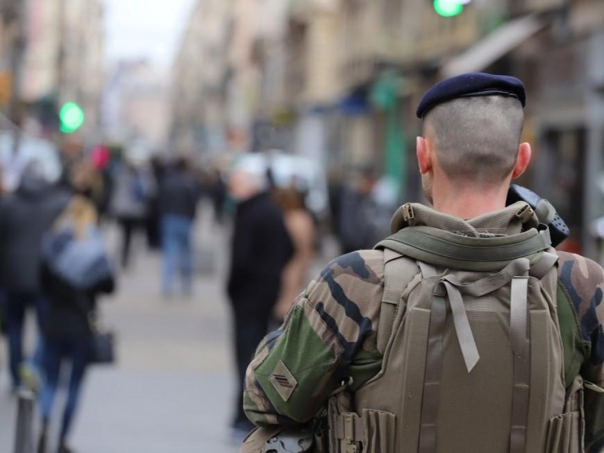 Opération Sentinelle : les patrouilles en hausse de 60% en Auvergne-Rhône-Alpes