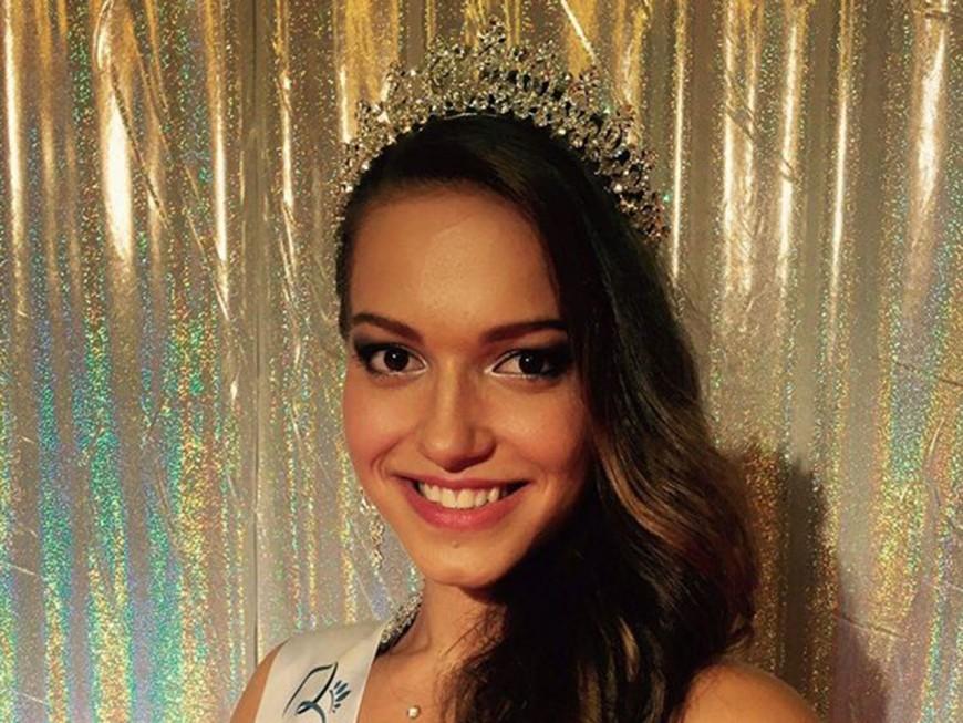Camille Bernard élue Miss Rhône-Alpes 2016