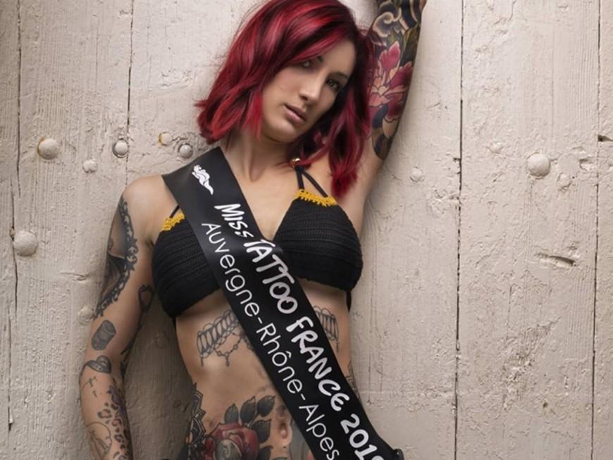 Une Lyonnaise représentera la France au Miss Tattoo World