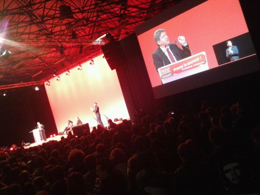 10 000 personnes pour Mélenchon à Villeurbanne