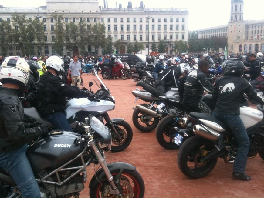 Manifestation des motards à Lyon : les zones à éviter samedi après-midi