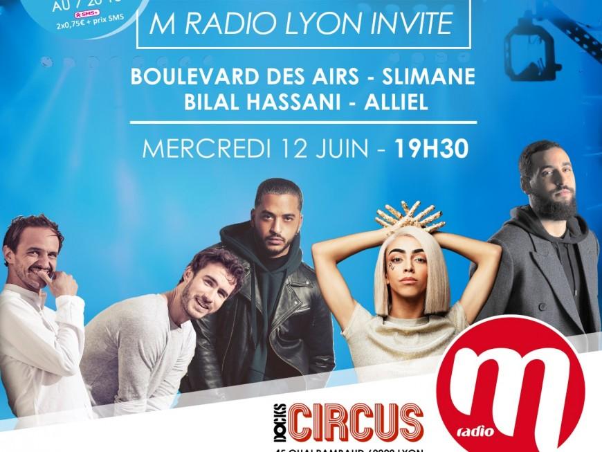 Bilal Hassani, Slimane, Boulevard des Airs, Alliel : une belle scène pour le futur M Radio Live à Lyon