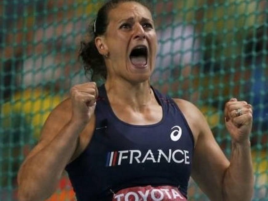 JO 2016 : Mélina Robert-Michon, en finale, sans trembler