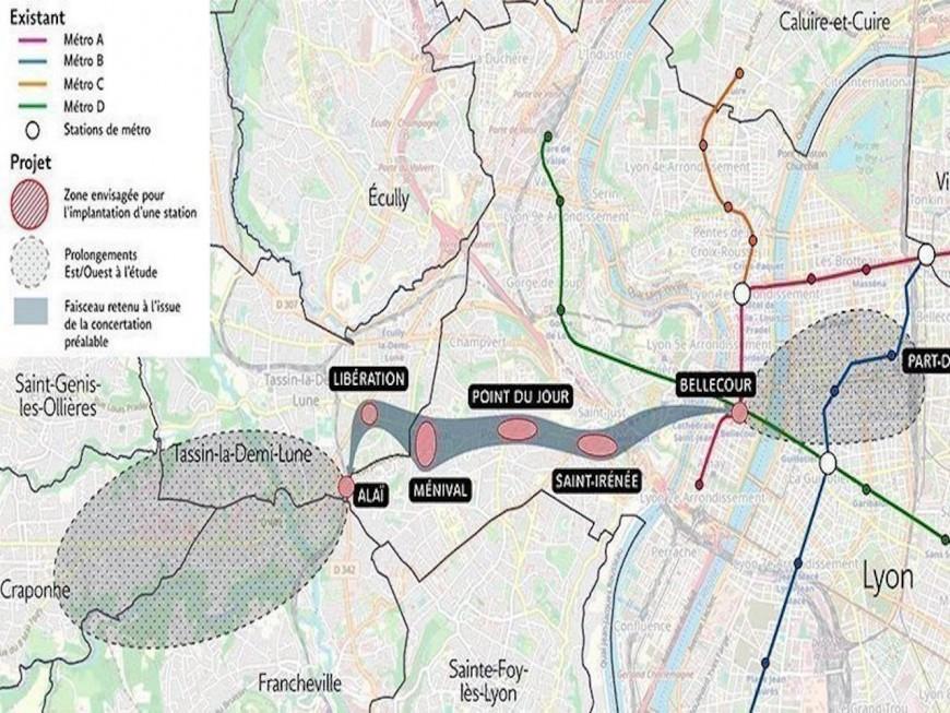 Lyon: une pétition pour défendre le projet du métro E