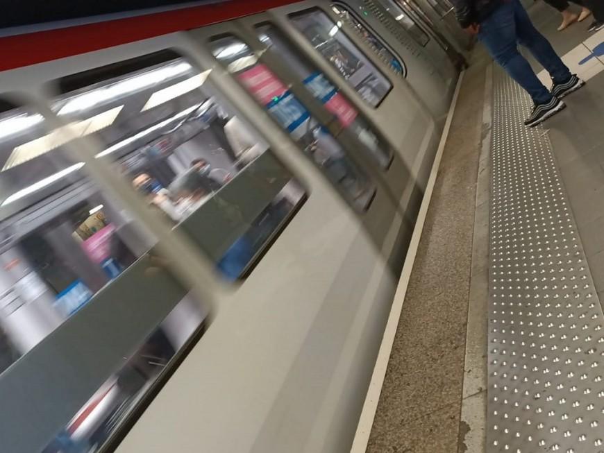 Confinement à Lyon : la fréquence des métros allégée le week-end