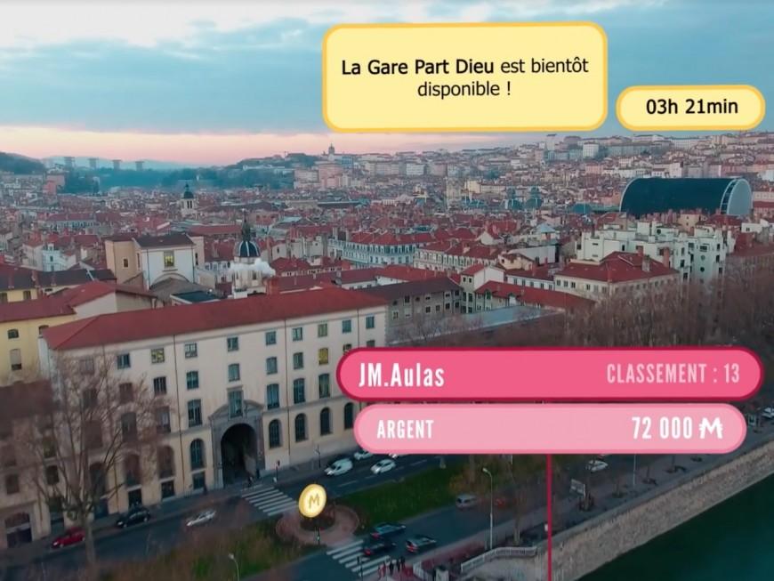 Métropolis : un jeu grandeur nature pour acheter virtuellement les bâtiments de Lyon