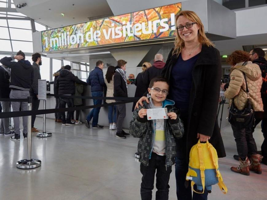 Le musée des Confluences passe la barre du million de visiteurs !
