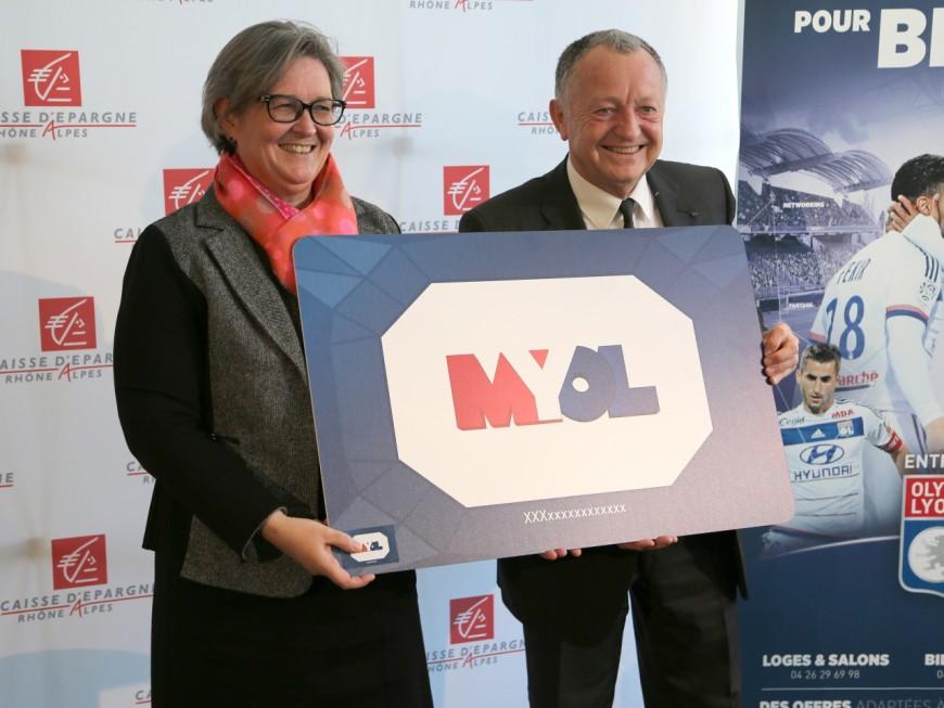 Signature d'un partenariat entre l'OL et la Caisse d'épargne Rhône-Alpes