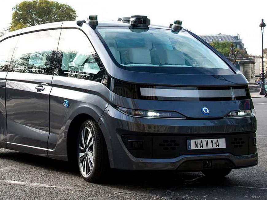 Navya devrait tester son nouveau véhicule dans le quartier de la Confluence à Lyon
