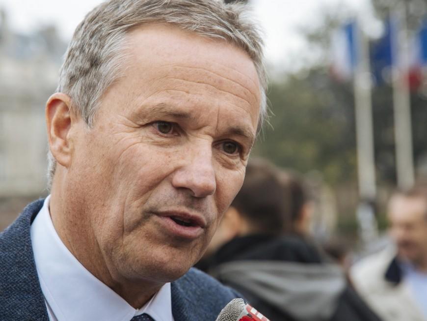 Présidentielle : Nicolas Dupont-Aignan en meeting ce samedi à Lyon