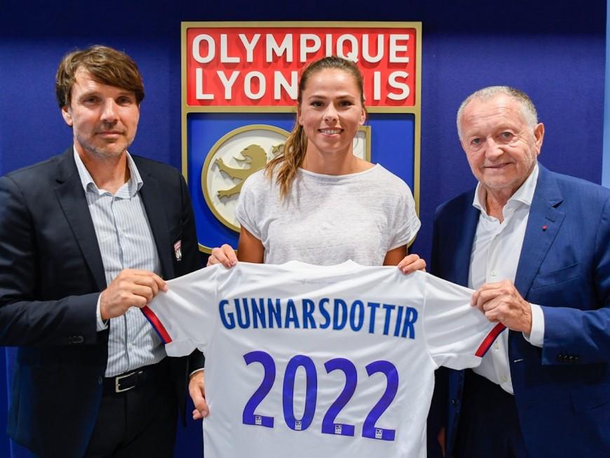 OL féminin: le club officialise la signature de Sara Björk Gunnarsdóttir