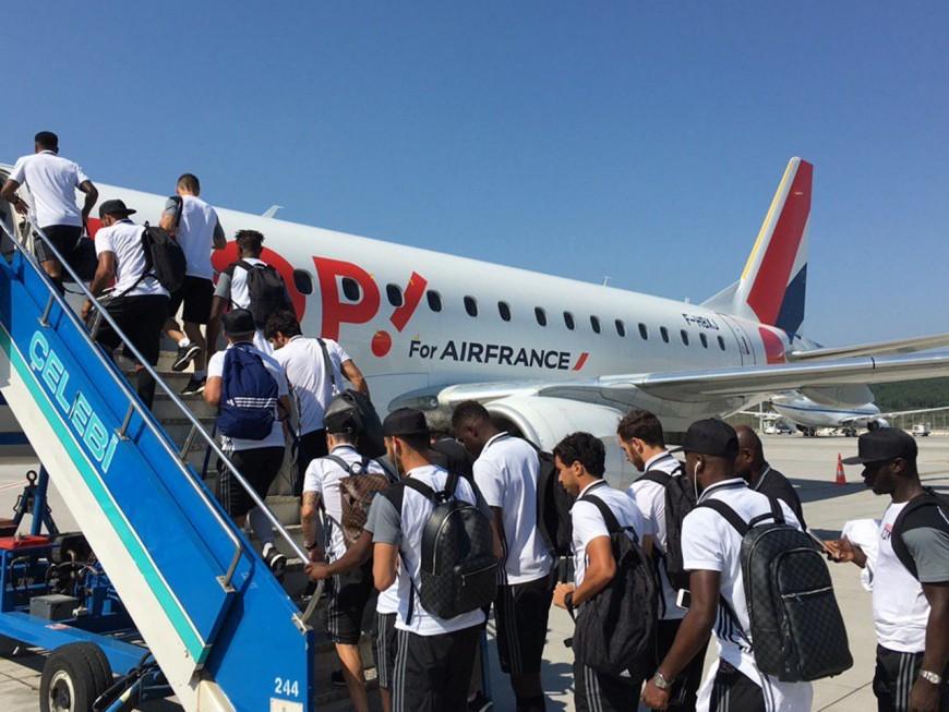 Les joueurs de l'OL rentrent d'Istanbul après le coup d'Etat manqué