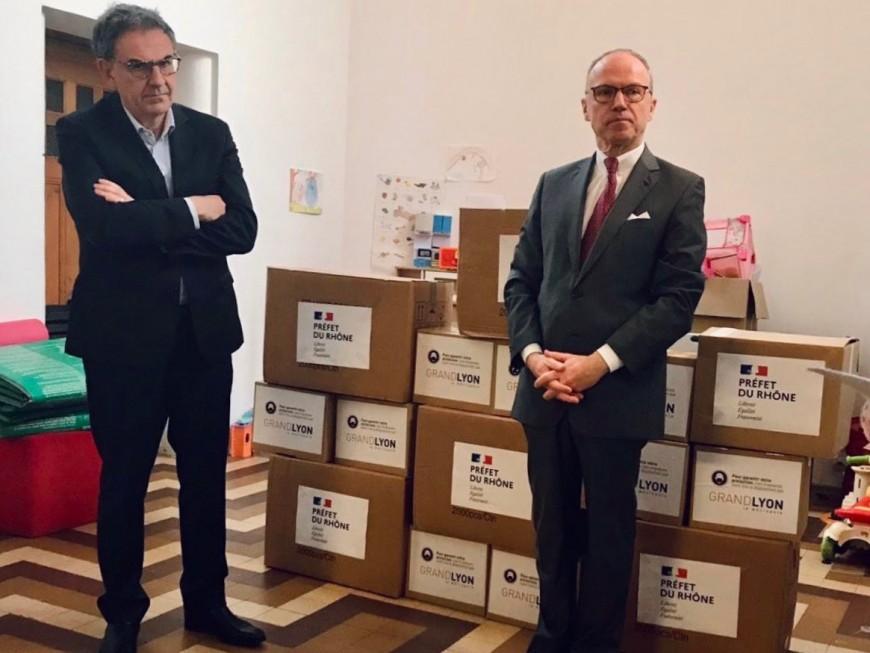 Lyon : 13 000 masques distribués aux acteurs de l'urgence sociale
