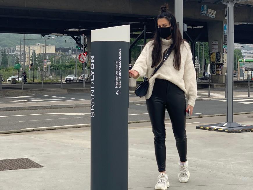 Lyon : les lieux publics où seront installées des bornes de gel hydroalcoolique