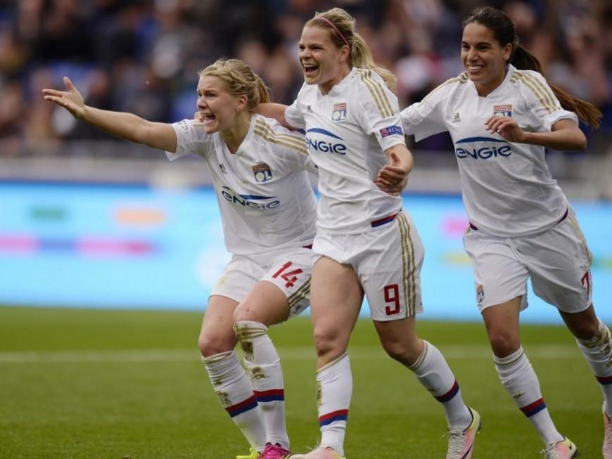 Les filles de l'OL ajoutent une huitième Coupe de France à leur palmarès !