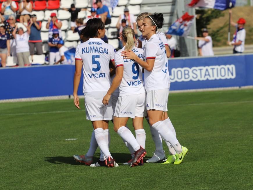 OL Féminin : 2e match de préparation contre le Czarni Sosnowiec