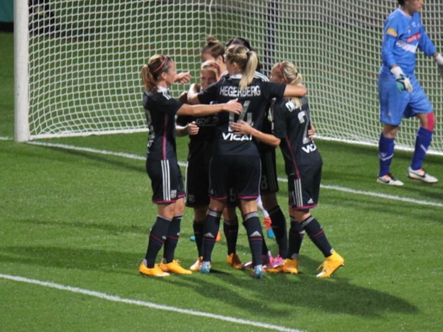 Victoire des filles de l'OL contre Albi (4-0)