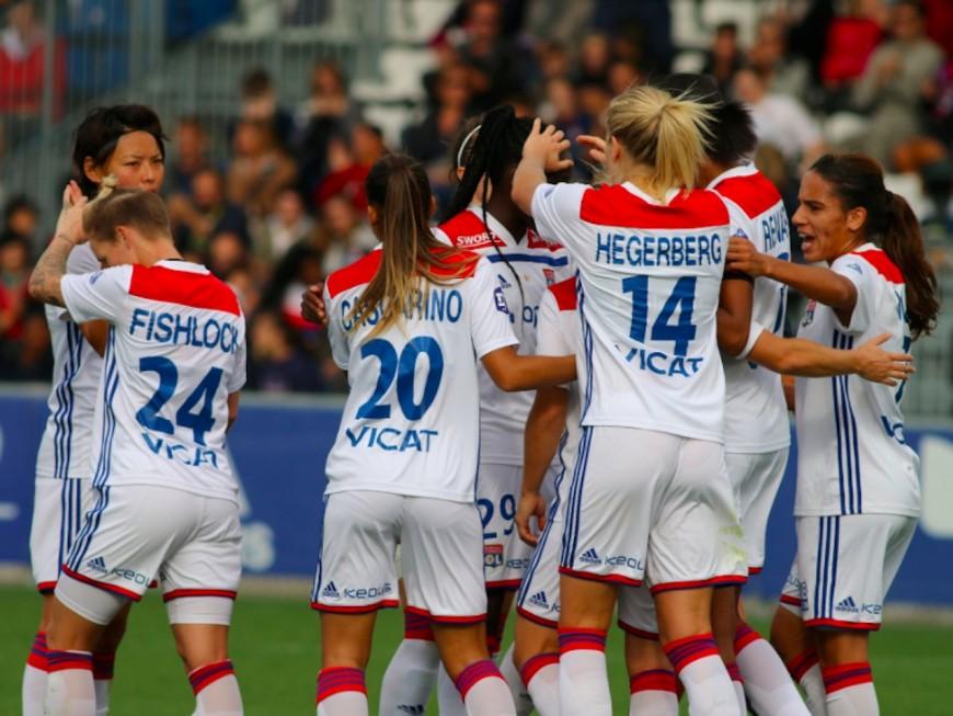 Jessica Fishlock inscrit son premier avec l'OL, qui s'impose contre Montpellier (2-1)